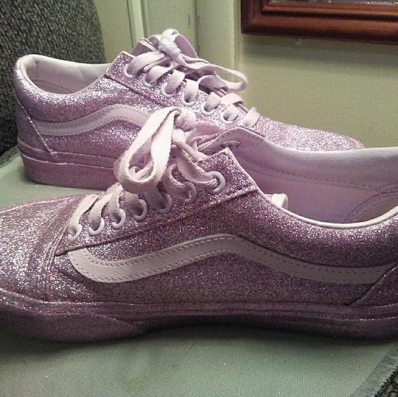 Old 8 School Vans Size Glitter Lavender T13lJcFK